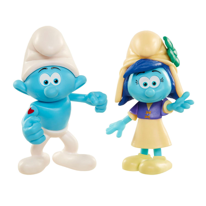 Игрушка фигурка арт. 96565 (96562) Smurfs Hefty Smurf & Smurfstorm в блистере
