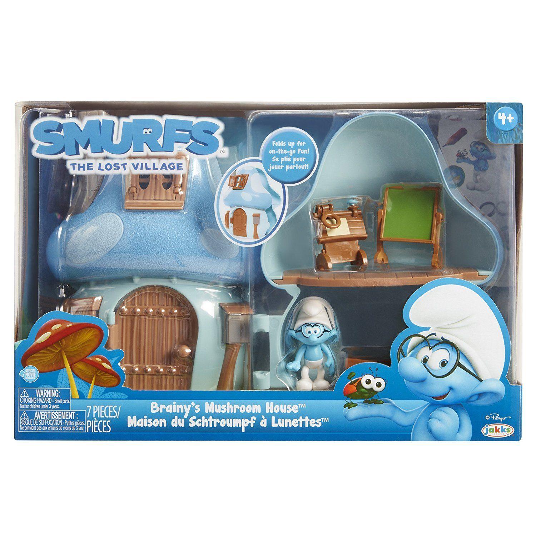 Игровой набор арт. 96571 (96570) Smurfs Mushroom House Smurfette в коробке