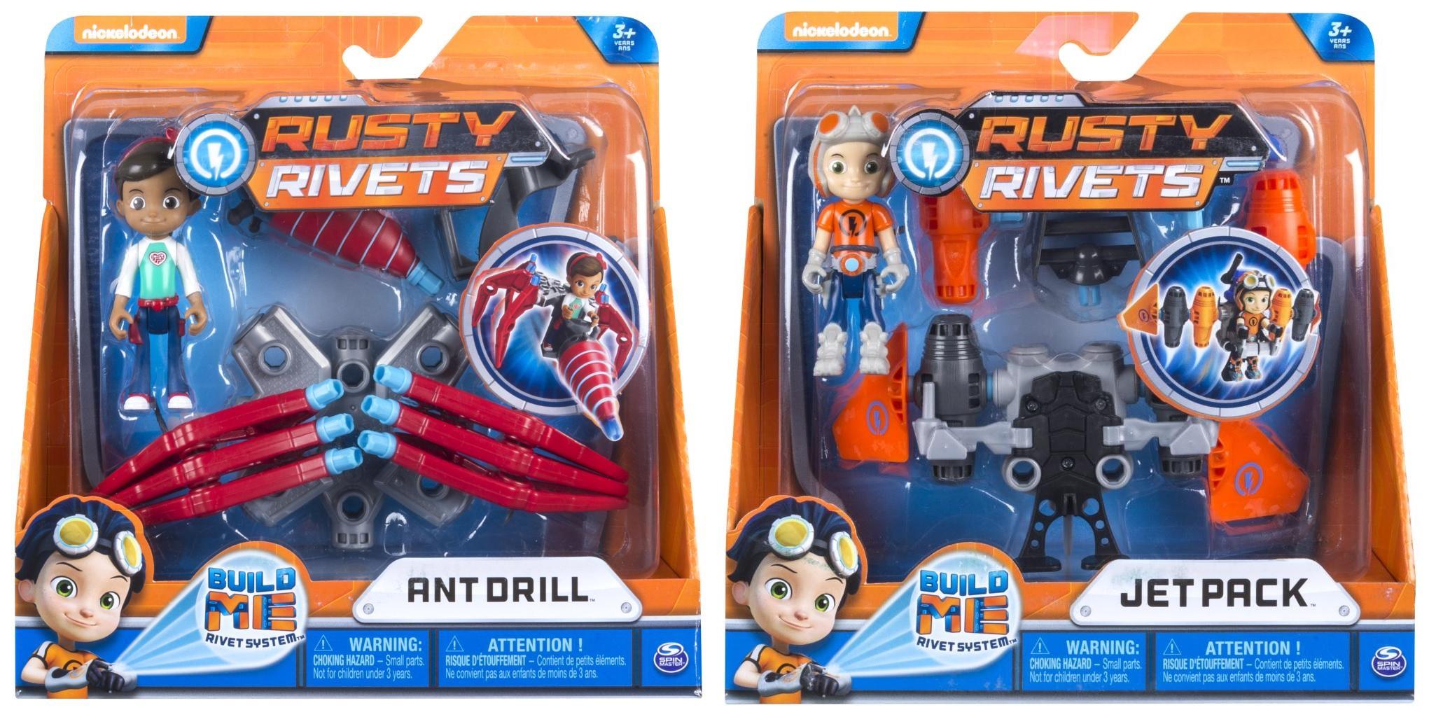 Игровой набор фигурка с транспортом Rusty Rivets, арт. 6034118, 2 фигурки в блистере