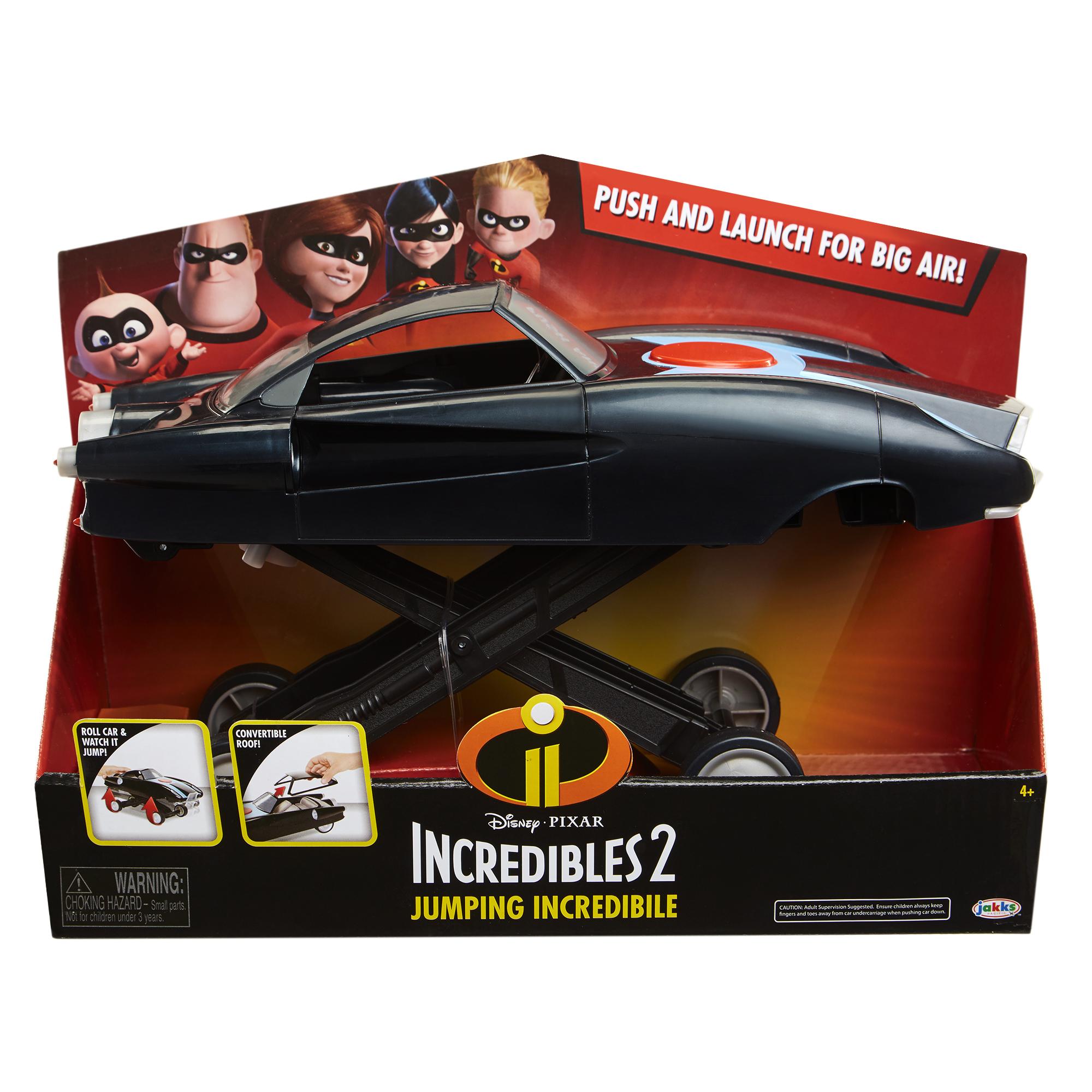 Прыгающий автомобиль Incredibles 2 в коробке, артикул 74867