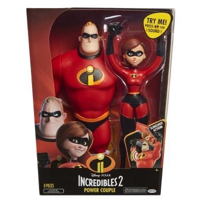 Набор фигурок Мама Хелен и папа Боб Incredibles 2 в коробке, артикул 04508
