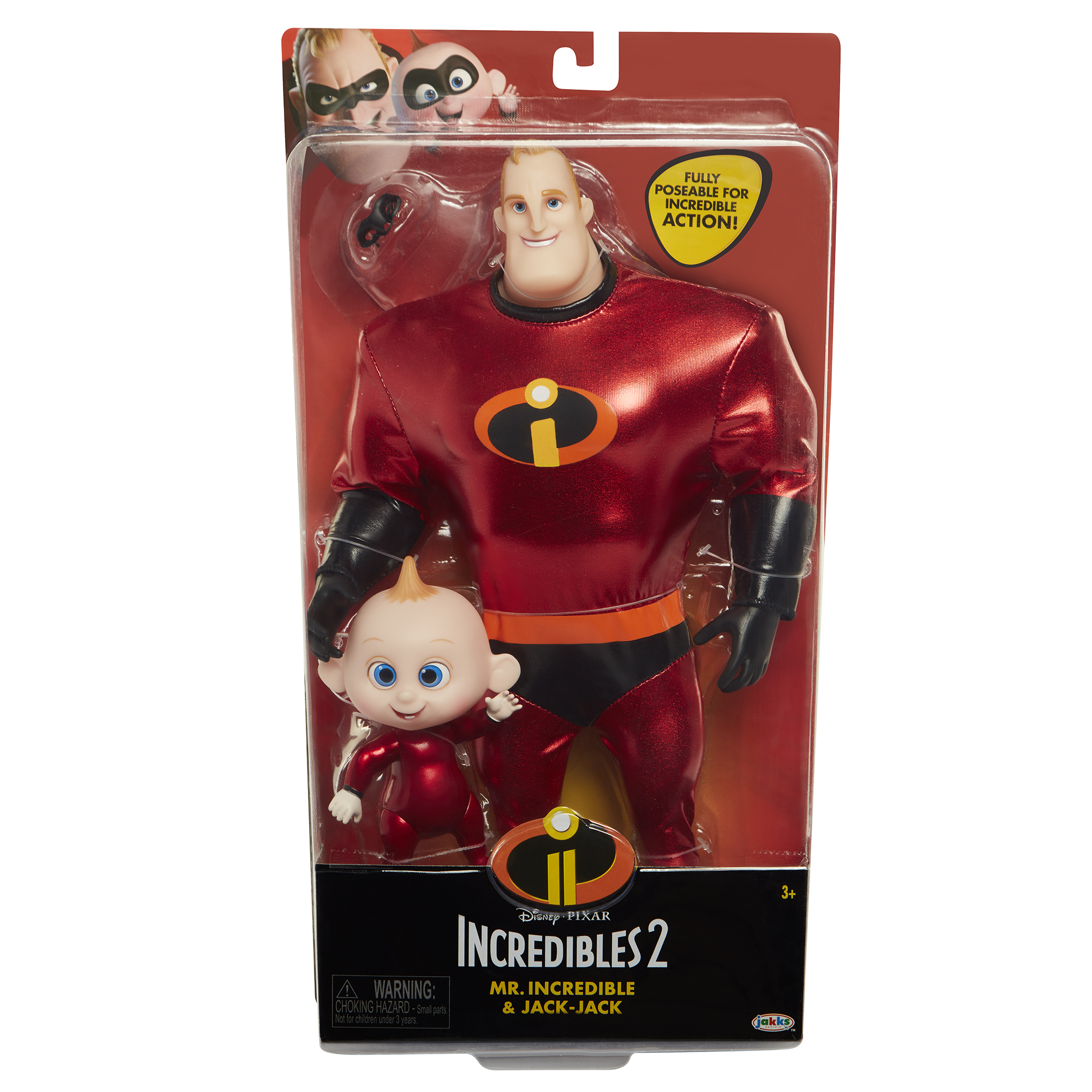 Набор кукол мистер Невероятный и Джек Джек Incredibles 2, артикул 76597