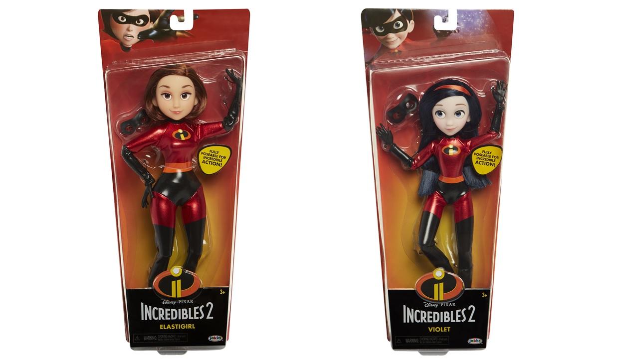 Куклы в тканевых костюмах 28 см Incredibles 2 в коробке, артикул  76586