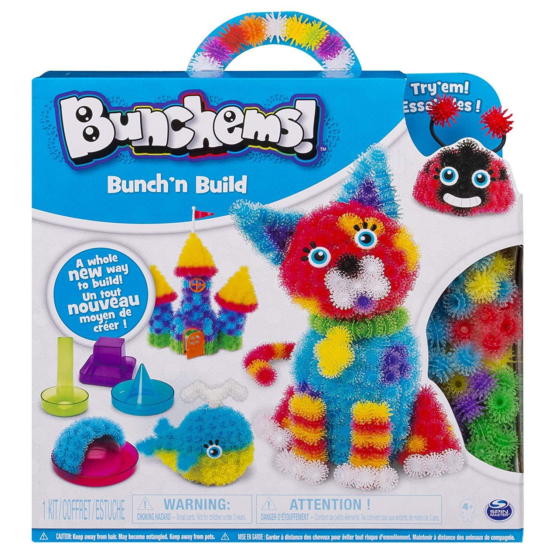 Конструктор-липучка Bunchems Bunch'n Build арт 6044156