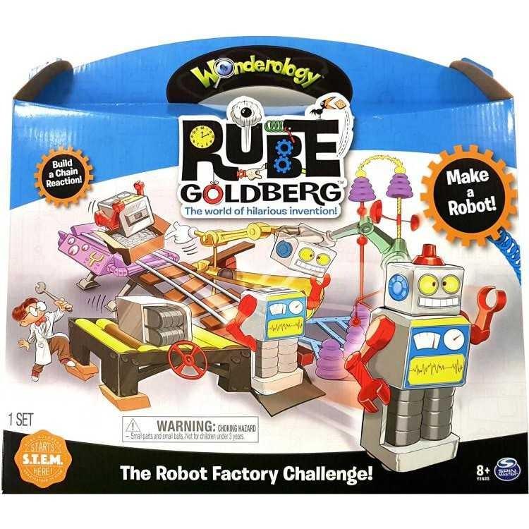Игровой набор Rube Goldberg Robot Factory Challenge  арт. 6037919