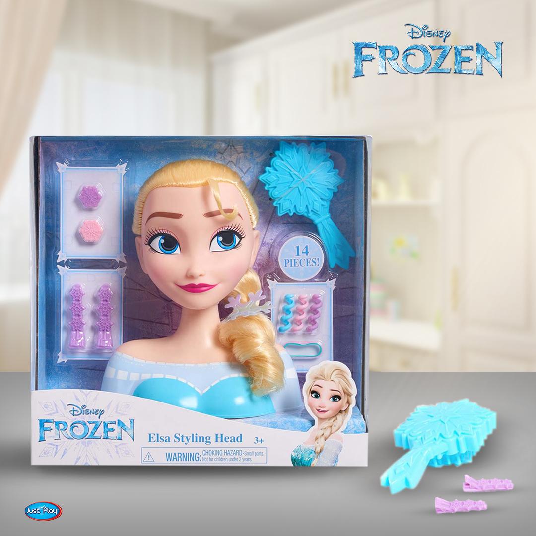 Голова для причёски Disney Frozen Elsa