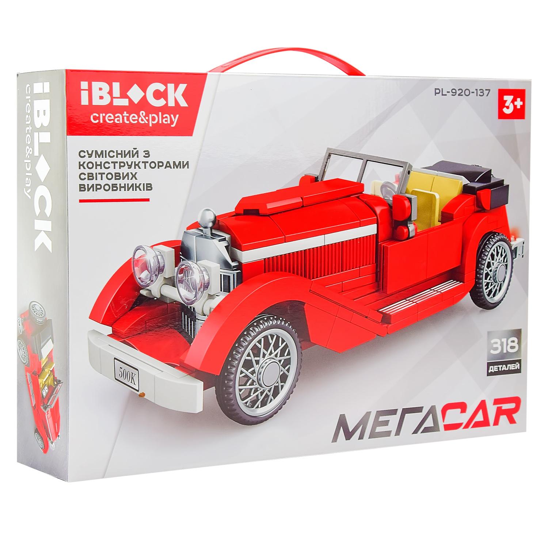 Конструктор IBLOCK Мегаcar PL-920-137
