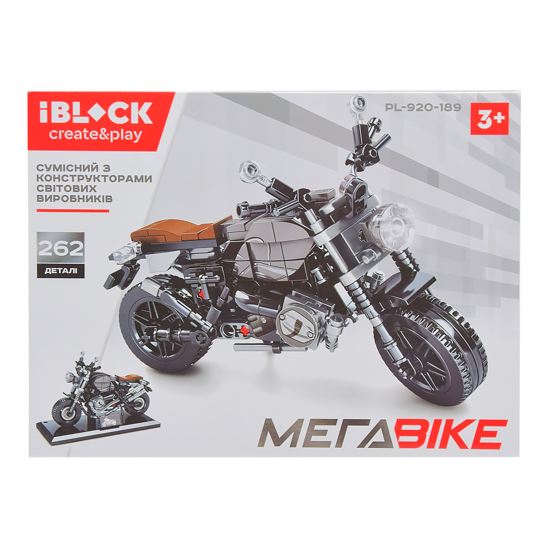 Конструктор IBLOCK МЕГАBIKE PL-920-189