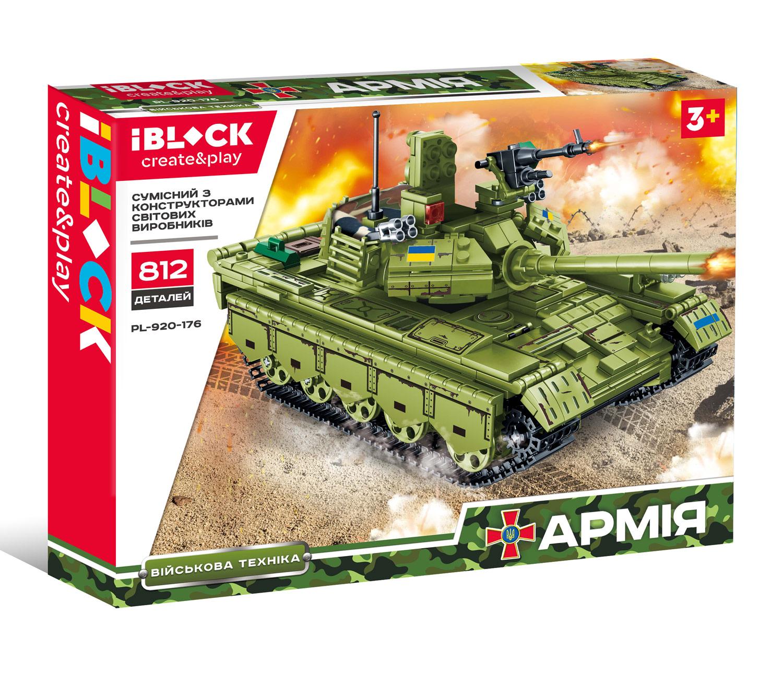 Конструктор IBLOCK Армія PL-920-176
