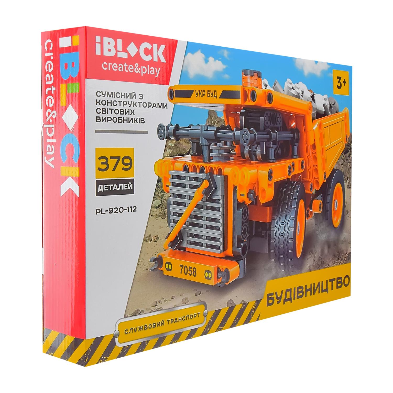Конструктор IBLOCK Будівельна техніка PL-920-112